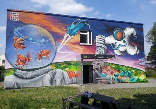 FreeDom: PRVNZ /Берлин/графити уметник