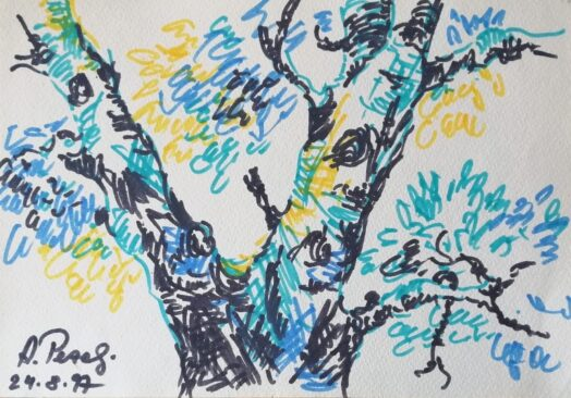 "Изложба: Алфред Пезељ, ""Радови на папиру"""