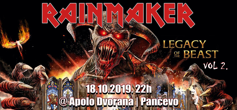 Концерт: Rainmaker / Iron Maiden Tribute
