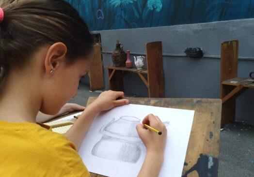 Основни курс цртања за децу од 12 до 15 година